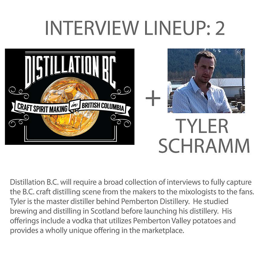 Interview 2 - Tyler Schramm, head distiller