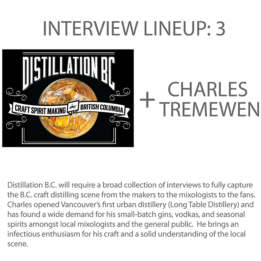 Interview 3 - Charles Tremewen, head distiller