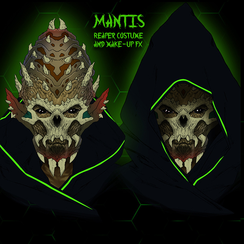 Mantis - Make-Up FX & Costume Design