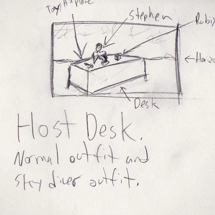 Host Desk Concept