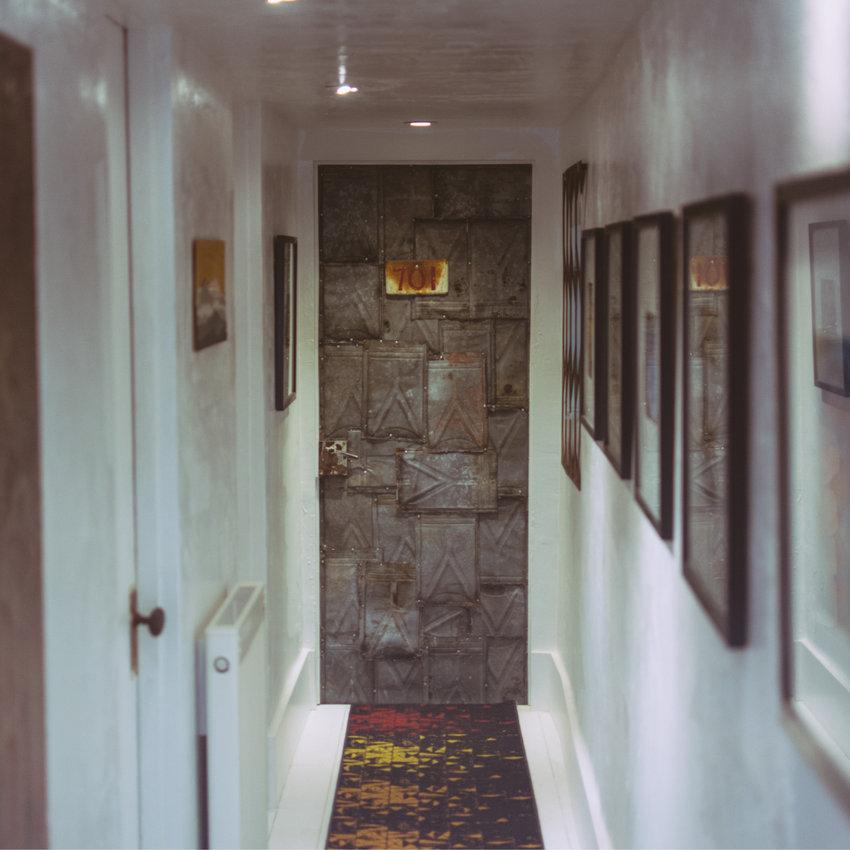 On Location - Door into studio