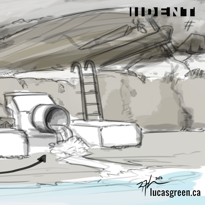 Concept Art - Entrance to Under
