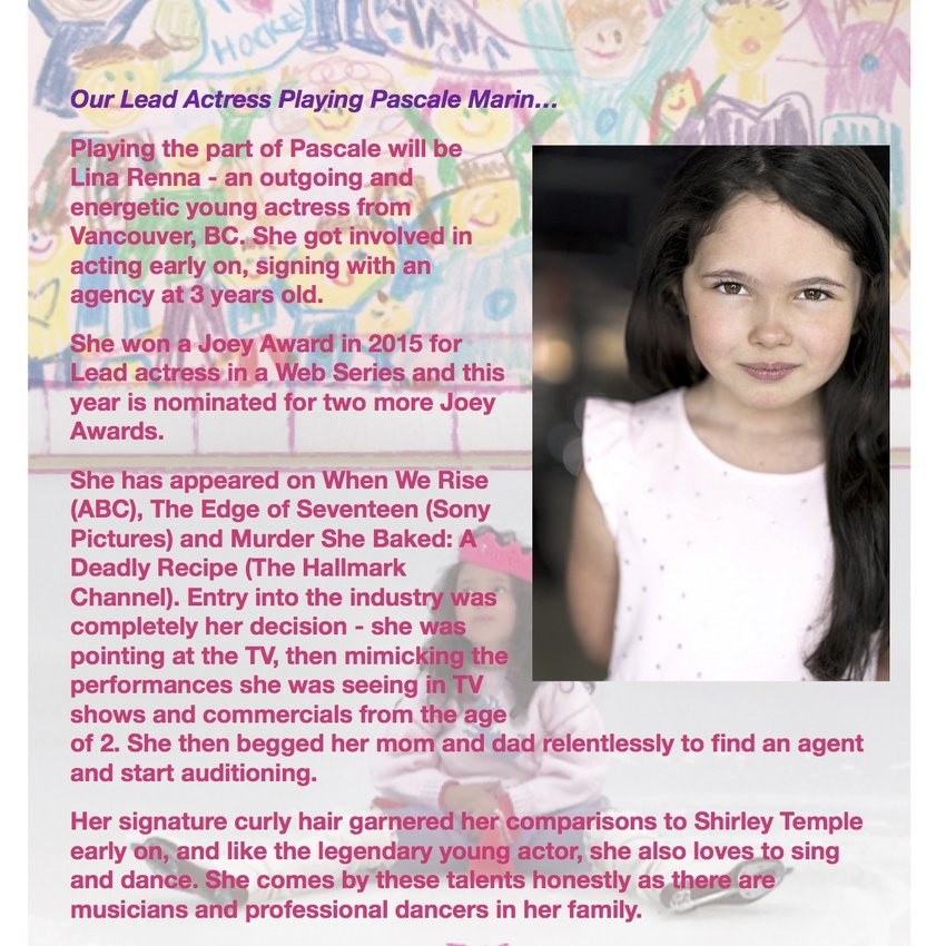 Cast - Our lead actress playing Pascale